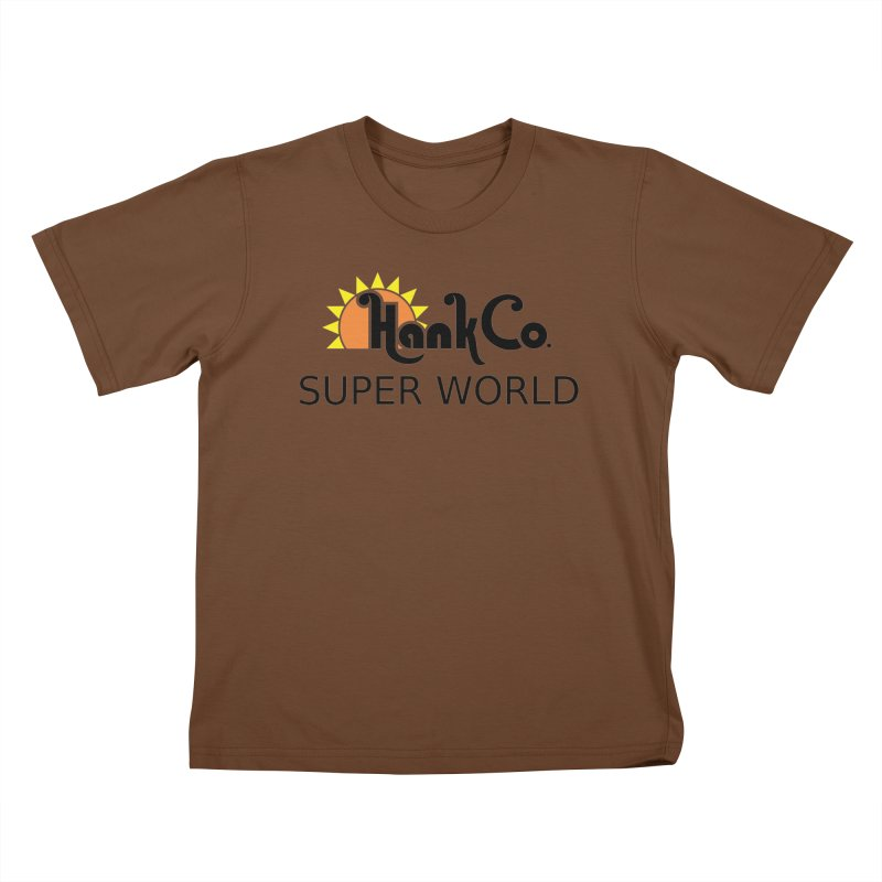 Hank Co. Kids T-shirt by Inspired Human Artist Shop