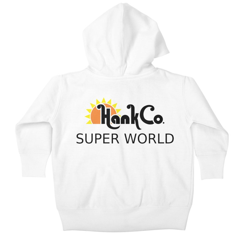 Hank Co. Kids Baby Zip-Up Hoody by Inspired Human Artist Shop
