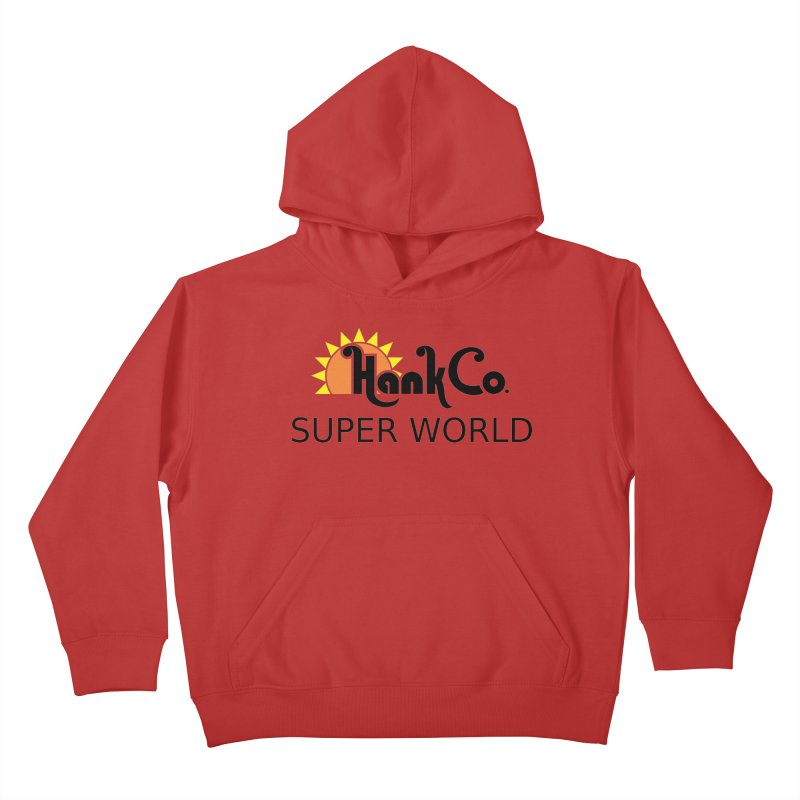 Hank Co. Kids Pullover Hoody by Inspired Human Artist Shop