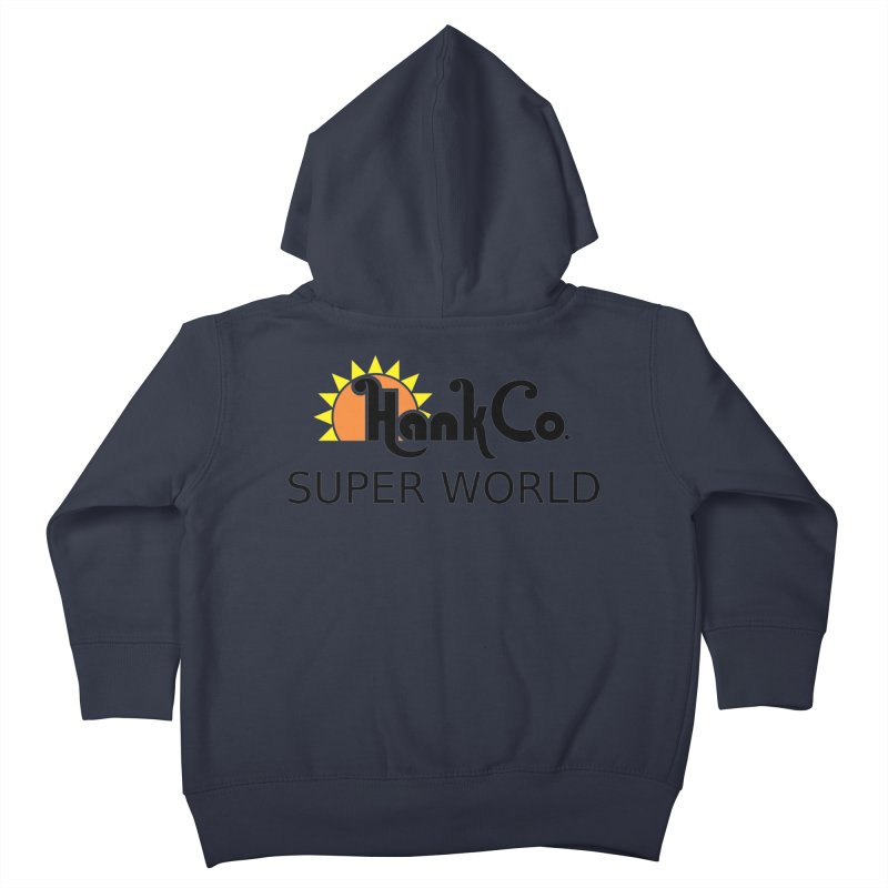 Hank Co. Kids Toddler Zip-Up Hoody by Inspired Human Artist Shop