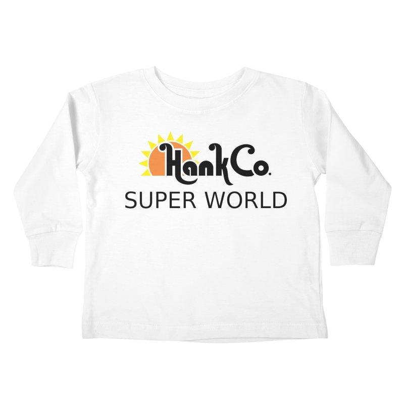 Hank Co. Kids Toddler Longsleeve T-Shirt by Inspired Human Artist Shop