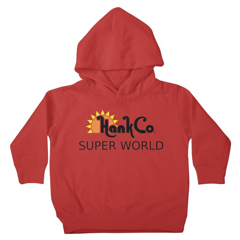 Hank Co. Kids Toddler Pullover Hoody by Inspired Human Artist Shop