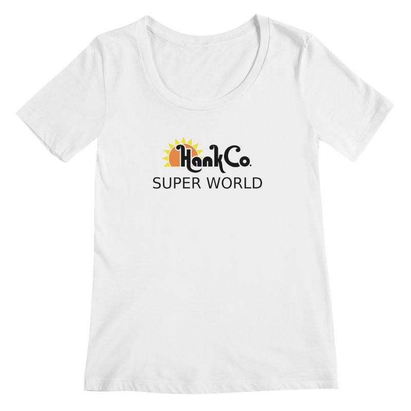 Hank Co. Women's Scoopneck by Inspired Human Artist Shop