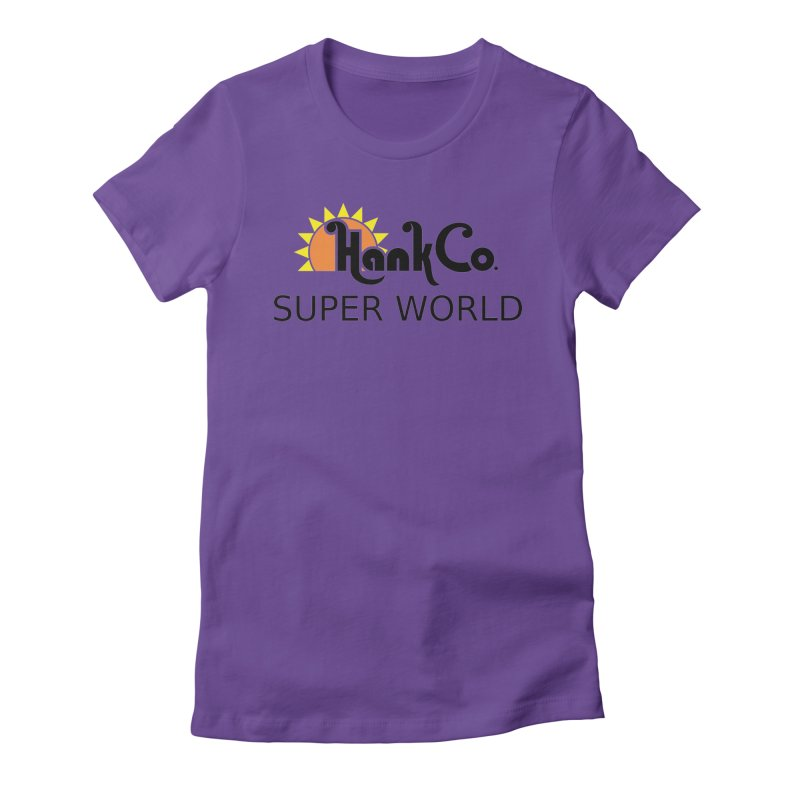 Hank Co. Women's Fitted T-Shirt by Inspired Human Artist Shop