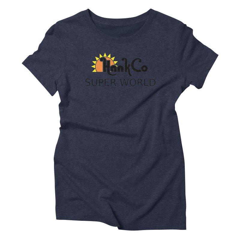 Hank Co. Women's Triblend T-Shirt by Inspired Human Artist Shop