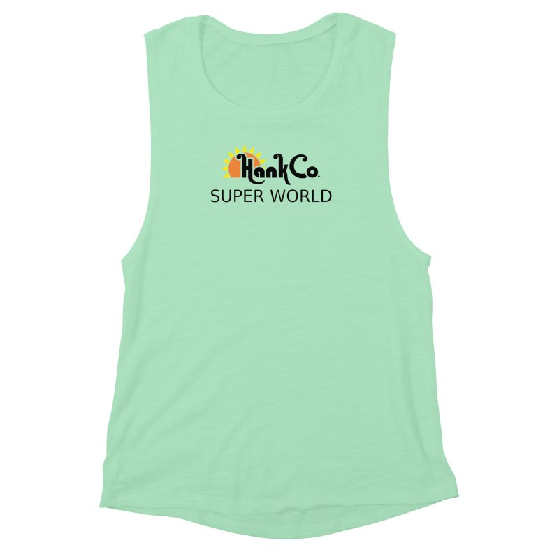 Hank Co. Women's Muscle Tank by Inspired Human Artist Shop