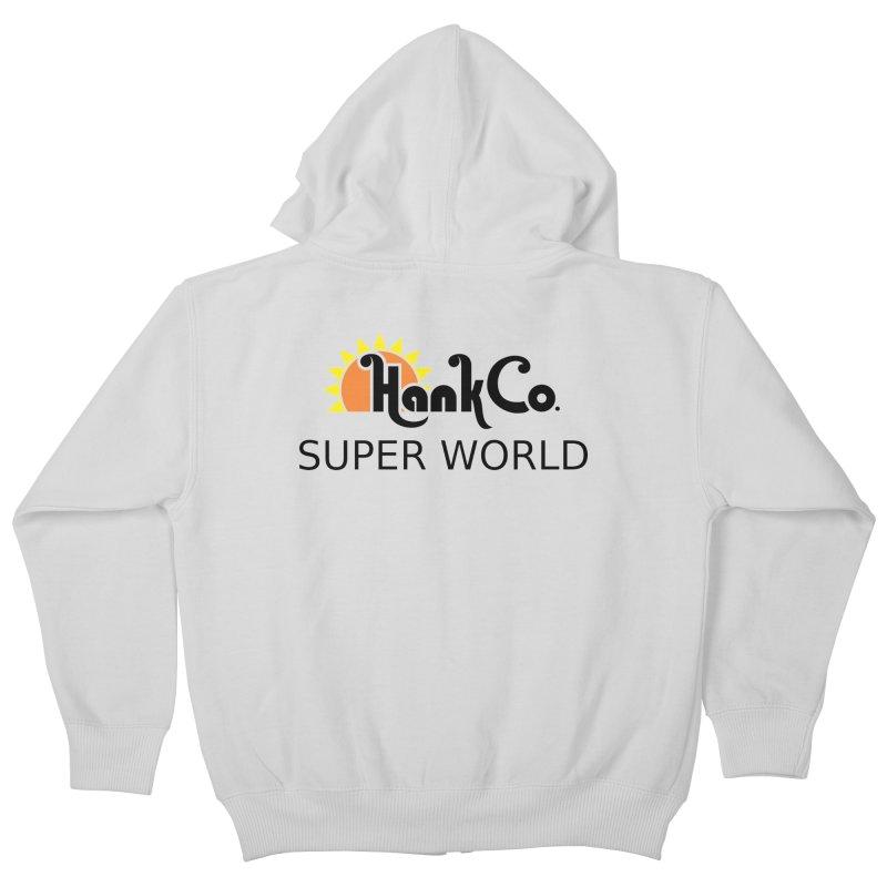 Hank Co. Kids Zip-Up Hoody by Inspired Human Artist Shop