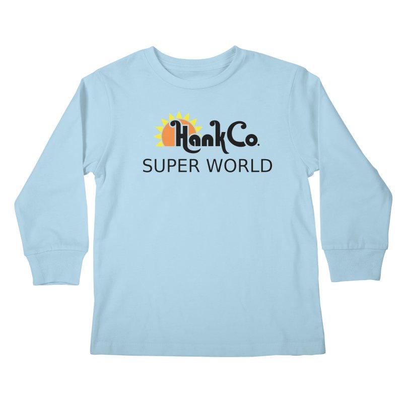 Hank Co. Kids Longsleeve T-Shirt by Inspired Human Artist Shop