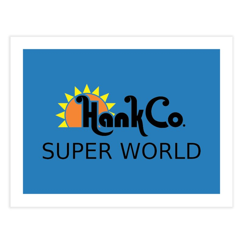 Hank Co. Home Fine Art Print by Inspired Human Artist Shop
