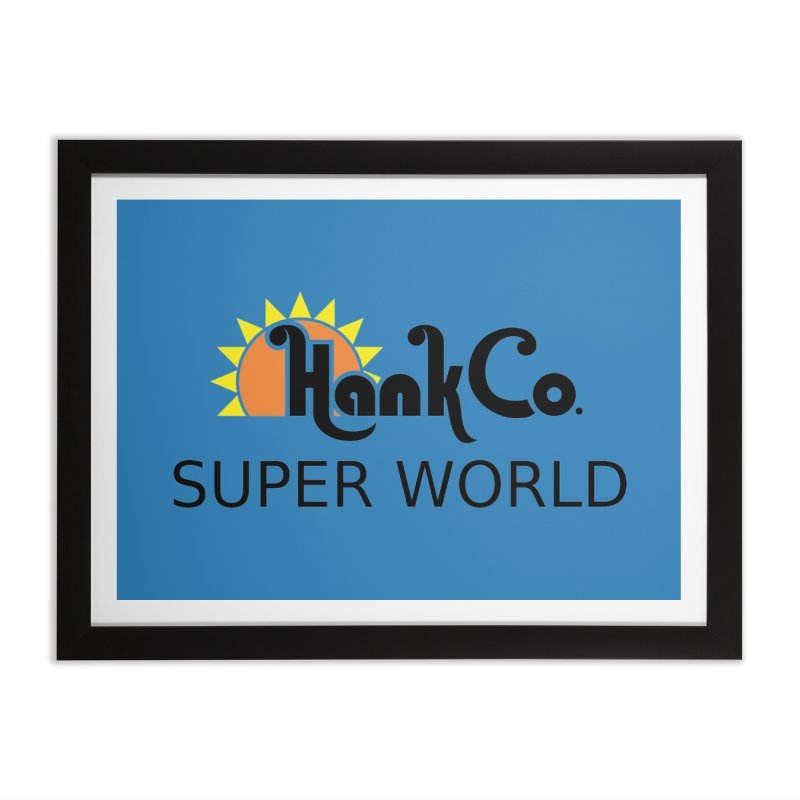 Hank Co. Home Framed Fine Art Print by Inspired Human Artist Shop