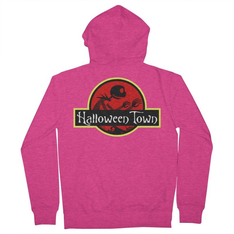 Welcome to Halloween Town Women's Zip-Up Hoody by Inspired Human Artist Shop