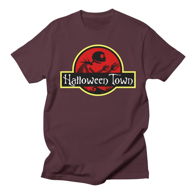 Welcome to Halloween Town Men's T-Shirt by Inspired Human Artist Shop
