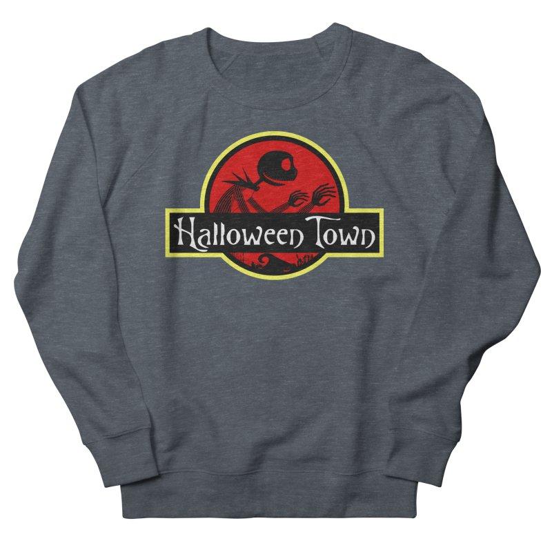 Welcome to Halloween Town Men's Sweatshirt by Inspired Human Artist Shop