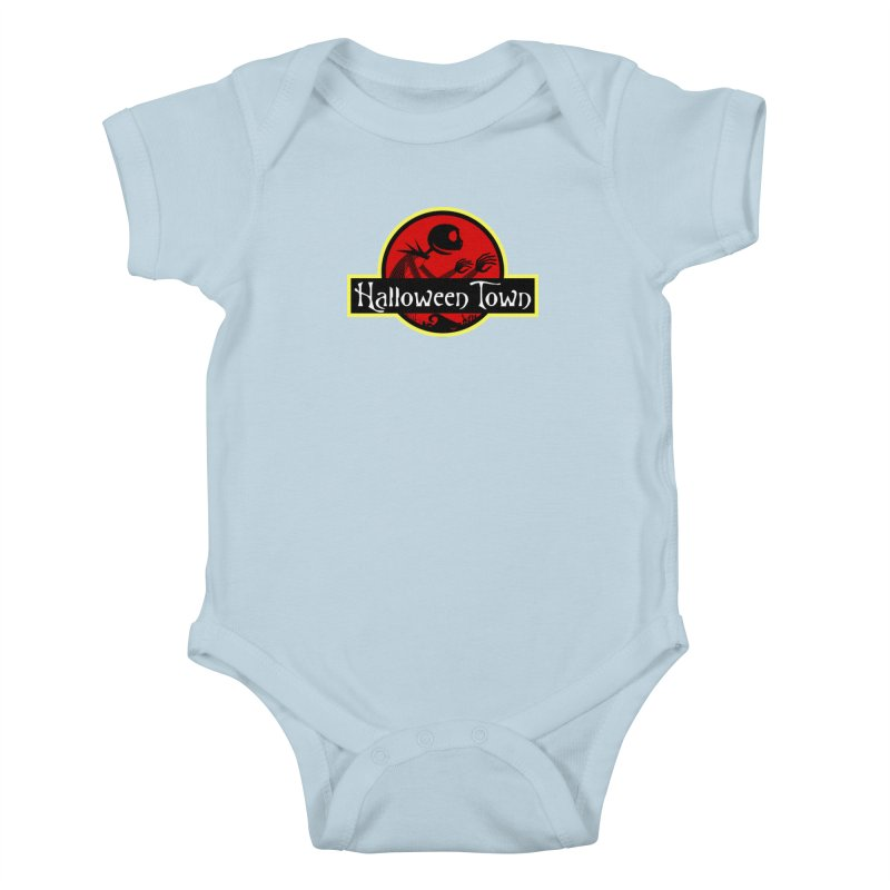Welcome to Halloween Town Kids Baby Bodysuit by Inspired Human Artist Shop