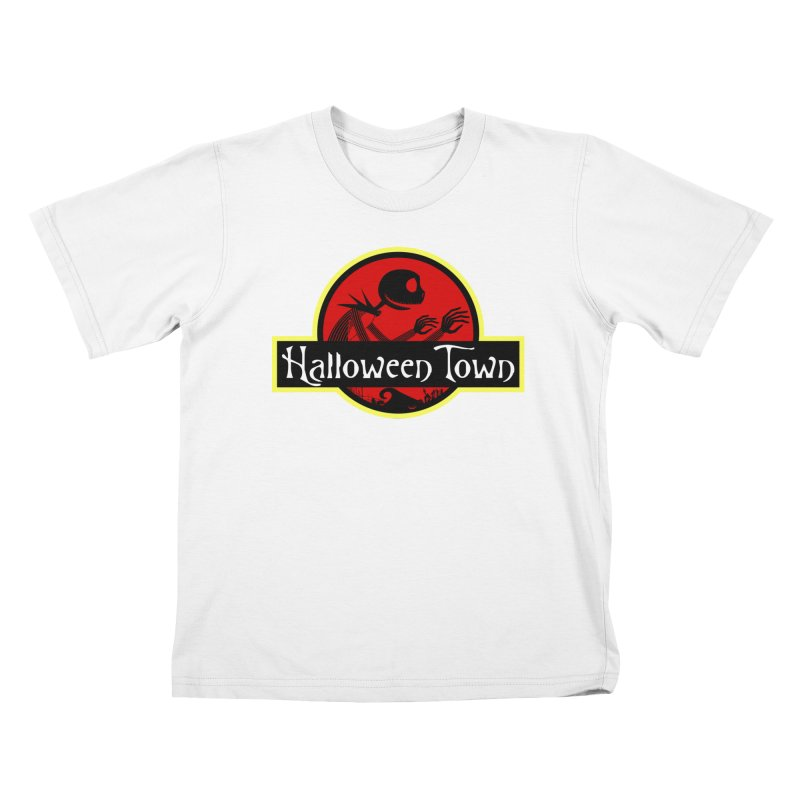 Welcome to Halloween Town Kids T-shirt by Inspired Human Artist Shop