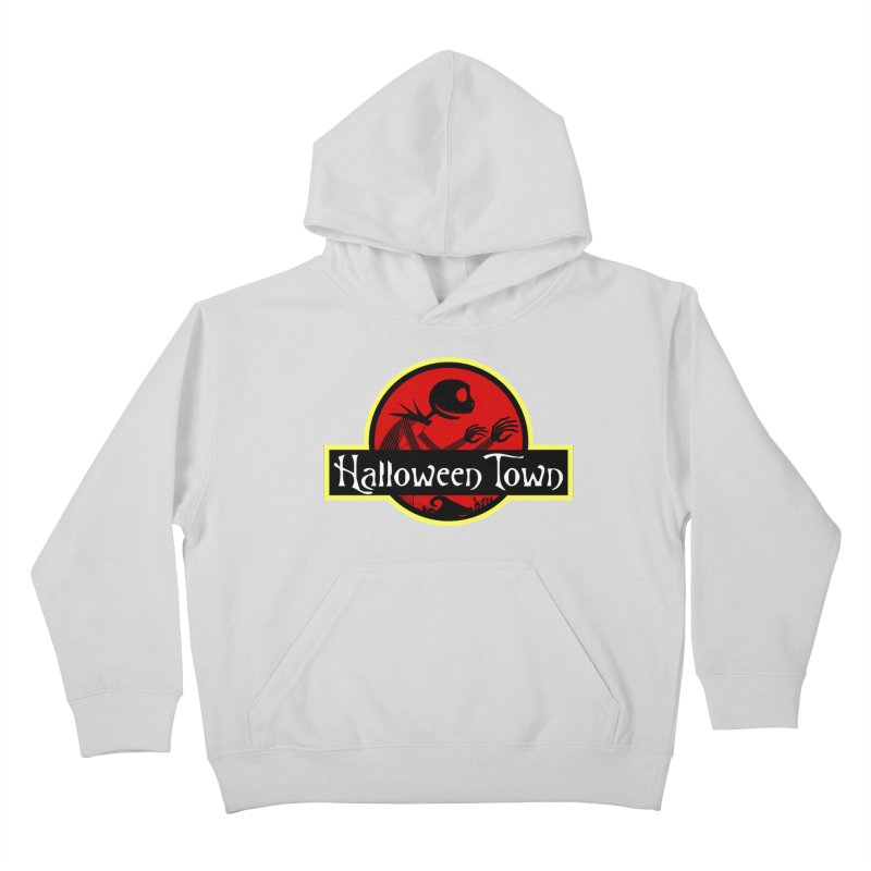Welcome to Halloween Town Kids Pullover Hoody by Inspired Human Artist Shop