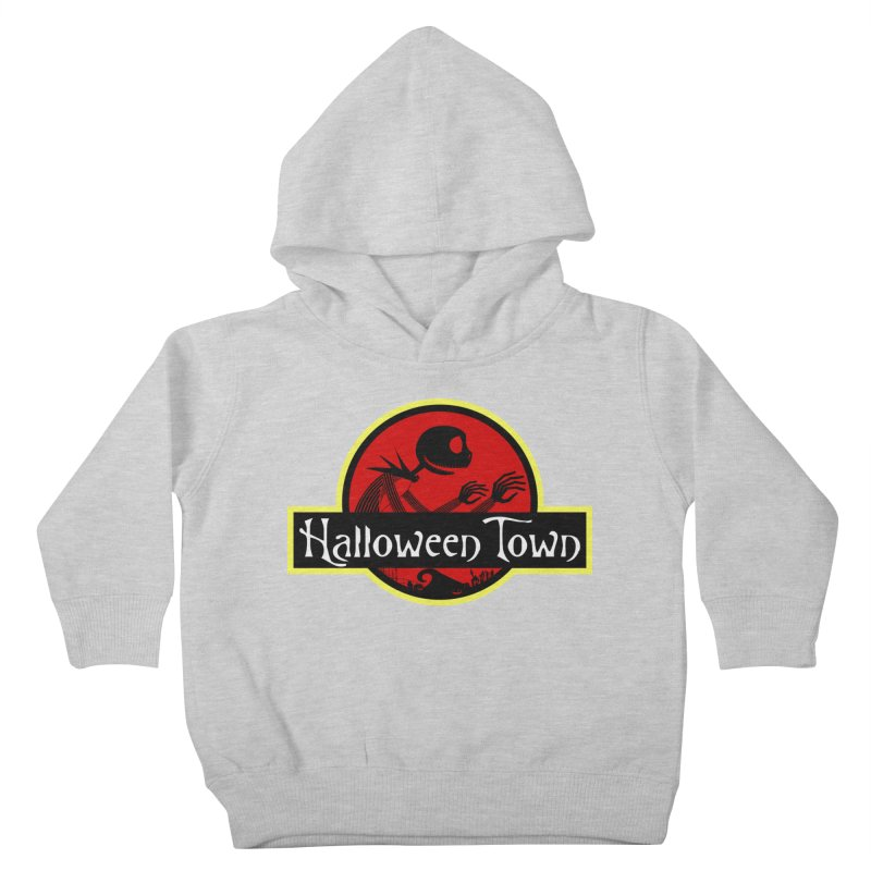 Welcome to Halloween Town Kids Toddler Pullover Hoody by Inspired Human Artist Shop