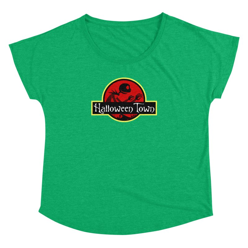 Welcome to Halloween Town Women's Dolman by Inspired Human Artist Shop