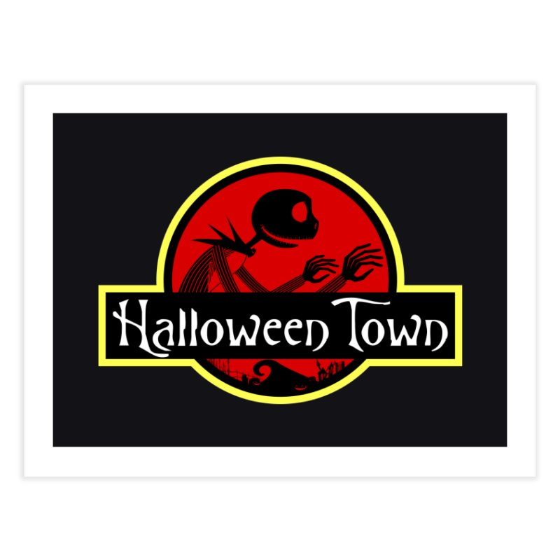 Welcome to Halloween Town Home Fine Art Print by Inspired Human Artist Shop