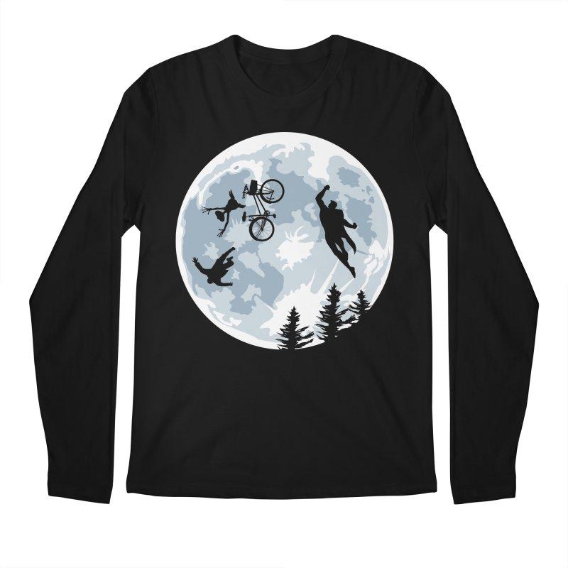 Extraterrestrial vs Extraordinaryterrestrial Men's Longsleeve T-Shirt by Inspired Human Artist Shop