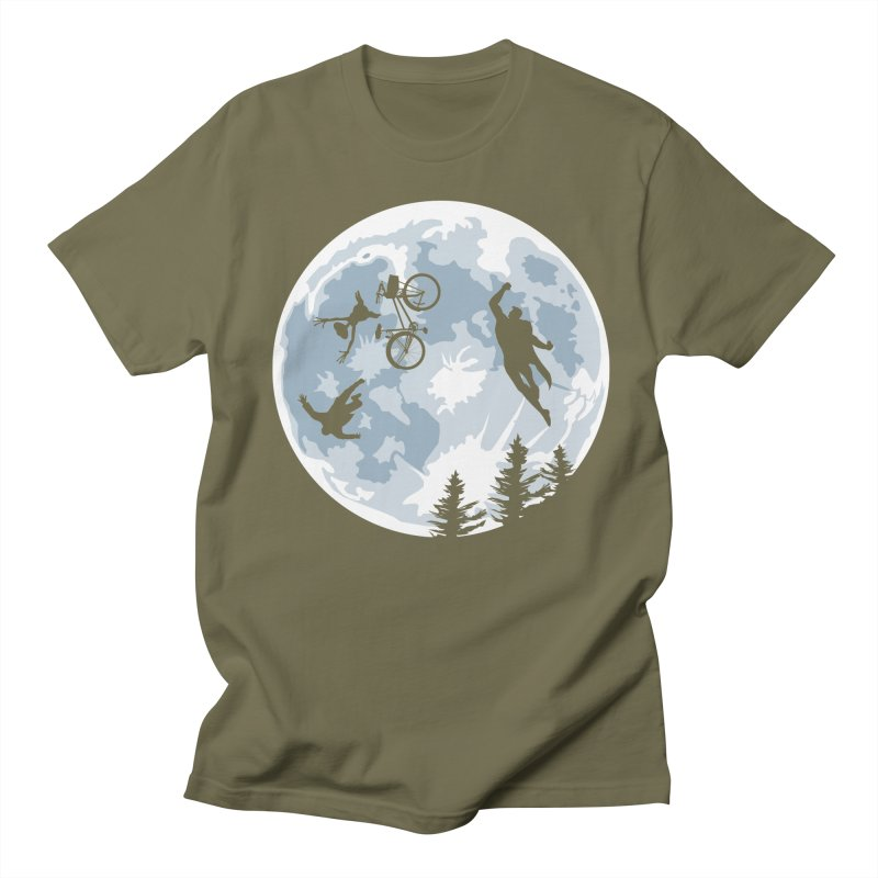 Extraterrestrial vs Extraordinaryterrestrial Men's T-Shirt by Inspired Human Artist Shop