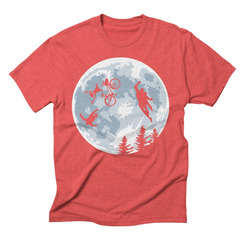 Extraterrestrial vs Extraordinaryterrestrial Men's Triblend T-Shirt by Inspired Human Artist Shop