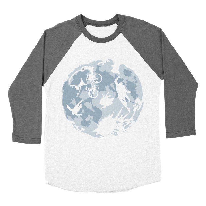 Extraterrestrial vs Extraordinaryterrestrial Men's Baseball Triblend T-Shirt by Inspired Human Artist Shop