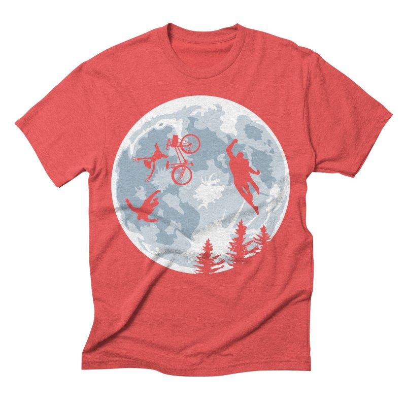 Extraterrestrial vs Extraordinaryterrestrial Men's Triblend T-shirt by Inspired Human Artist Shop