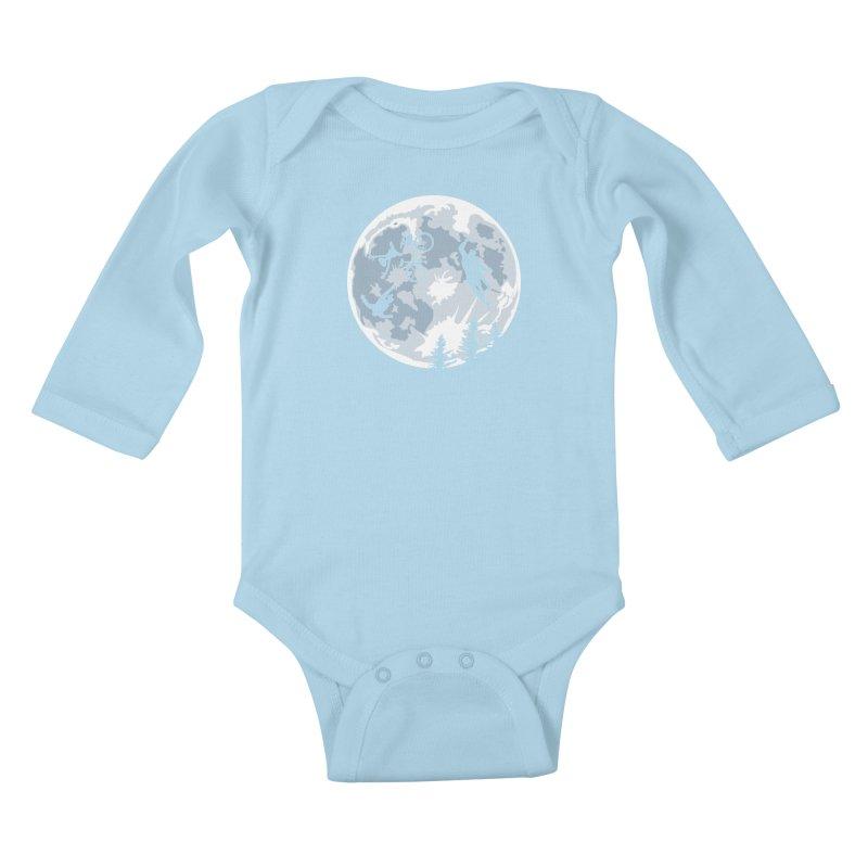 Extraterrestrial vs Extraordinaryterrestrial Kids Baby Longsleeve Bodysuit by Inspired Human Artist Shop