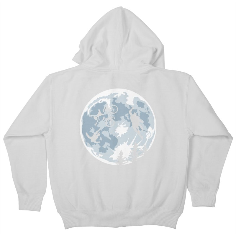 Extraterrestrial vs Extraordinaryterrestrial Kids Zip-Up Hoody by Inspired Human Artist Shop
