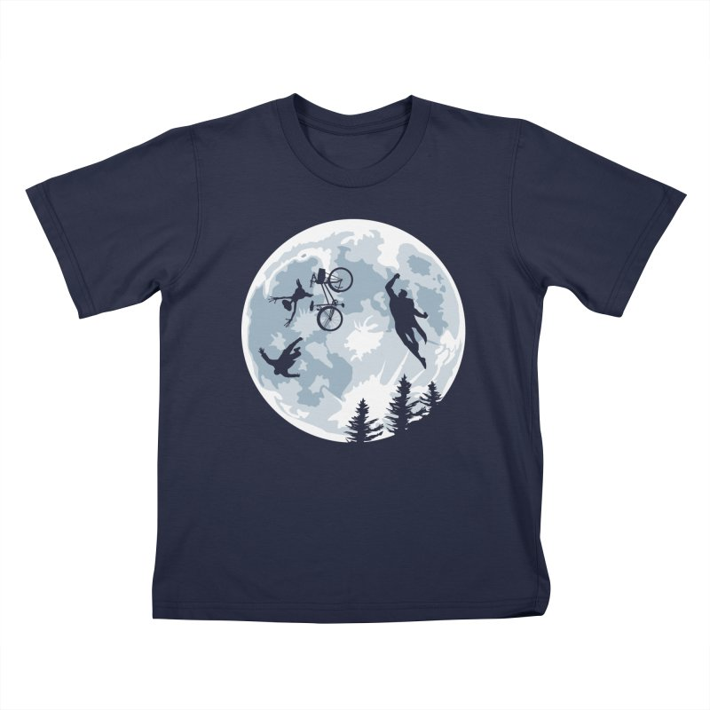 Extraterrestrial vs Extraordinaryterrestrial Kids T-shirt by Inspired Human Artist Shop