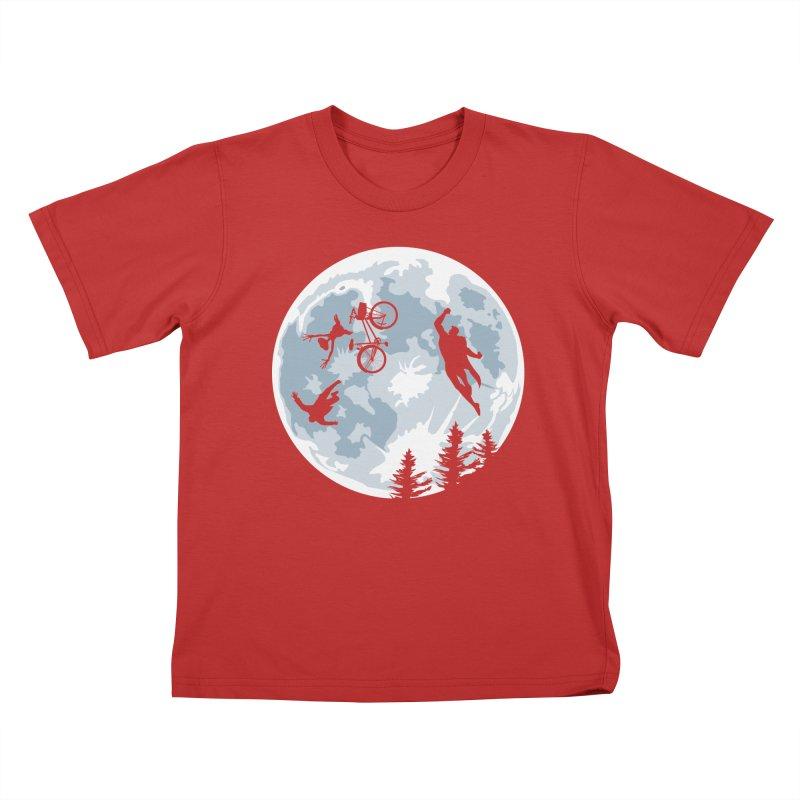 Extraterrestrial vs Extraordinaryterrestrial Kids T-Shirt by Inspired Human Artist Shop