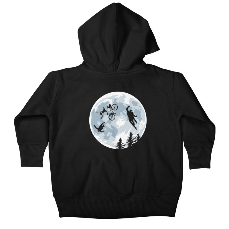 Extraterrestrial vs Extraordinaryterrestrial Kids Baby Zip-Up Hoody by Inspired Human Artist Shop