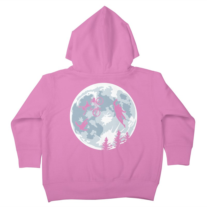 Extraterrestrial vs Extraordinaryterrestrial Kids Toddler Zip-Up Hoody by Inspired Human Artist Shop