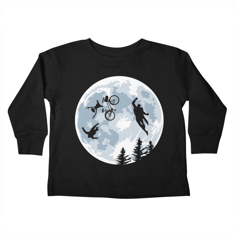 Extraterrestrial vs Extraordinaryterrestrial Kids Toddler Longsleeve T-Shirt by Inspired Human Artist Shop