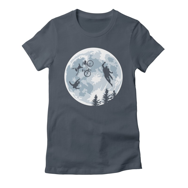 Extraterrestrial vs Extraordinaryterrestrial Women's Fitted T-Shirt by Inspired Human Artist Shop