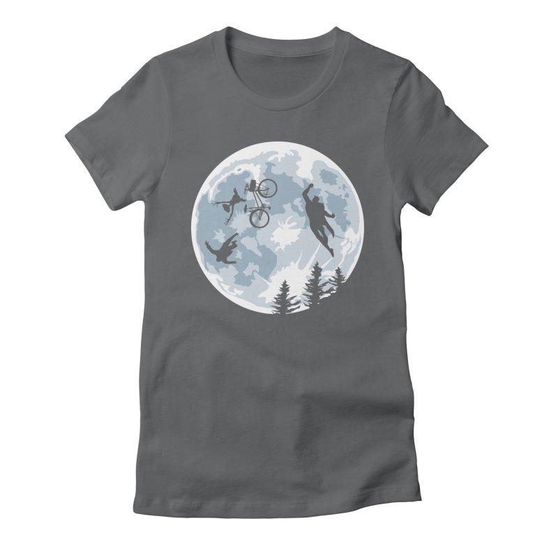 Extraterrestrial vs Extraordinaryterrestrial Women's Fitted T-Shirt by Inspired Human Artist Shop