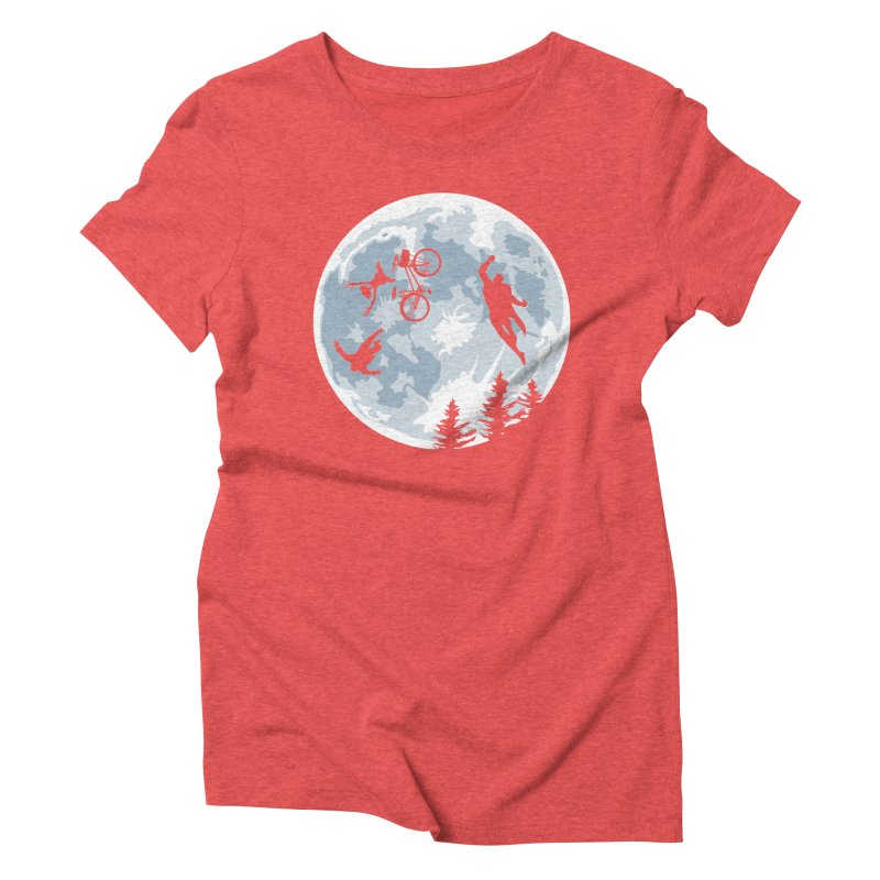 Extraterrestrial vs Extraordinaryterrestrial Women's Triblend T-shirt by Inspired Human Artist Shop