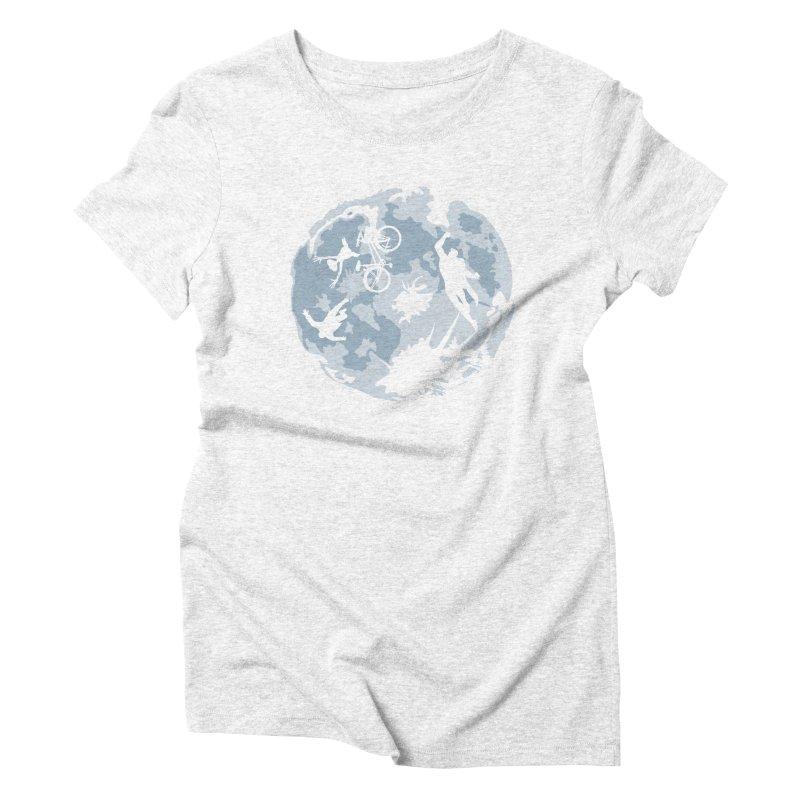 Extraterrestrial vs Extraordinaryterrestrial Women's Triblend T-shirt by Inspired Human Artist Shop