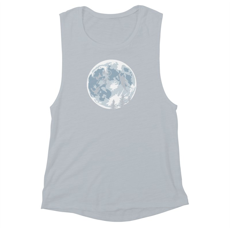Extraterrestrial vs Extraordinaryterrestrial Women's Muscle Tank by Inspired Human Artist Shop