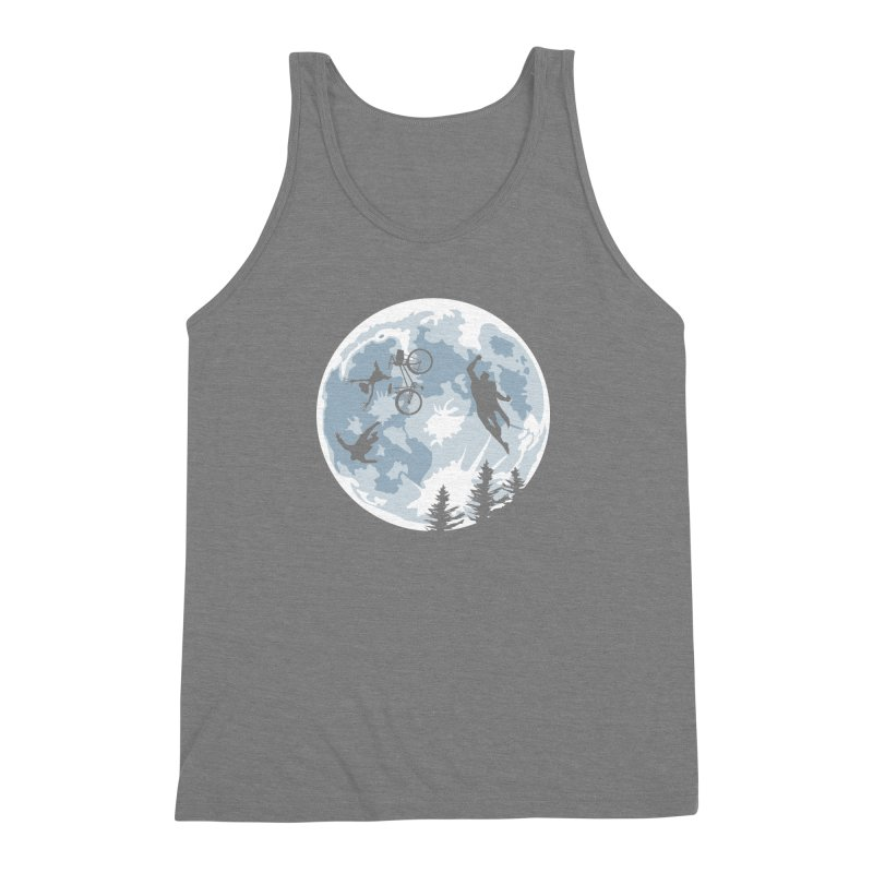 Extraterrestrial vs Extraordinaryterrestrial Men's Triblend Tank by Inspired Human Artist Shop