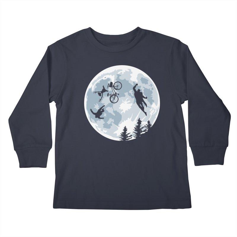 Extraterrestrial vs Extraordinaryterrestrial Kids Longsleeve T-Shirt by Inspired Human Artist Shop
