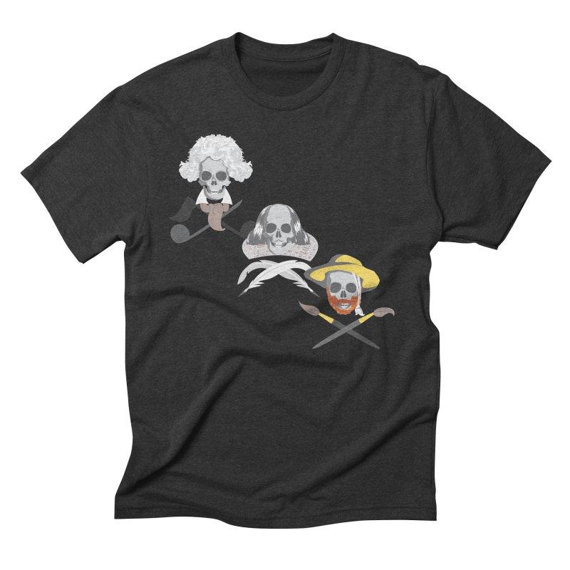 Artist Dead Men's Triblend T-shirt by Inspired Human Artist Shop