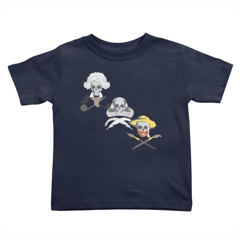 Artist Dead Kids Toddler T-Shirt by Inspired Human Artist Shop