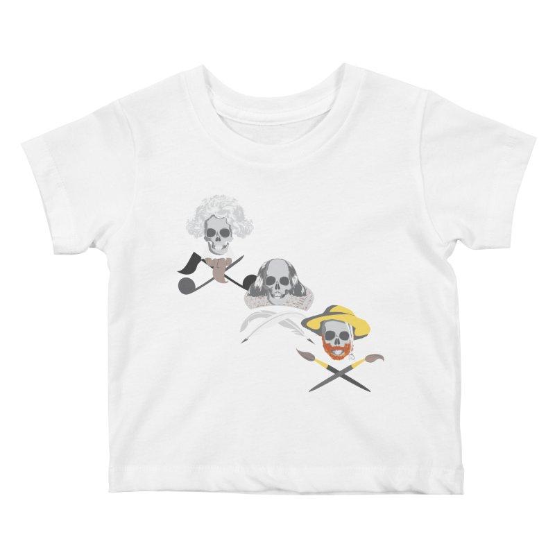 Artist Dead Kids Baby T-Shirt by Inspired Human Artist Shop