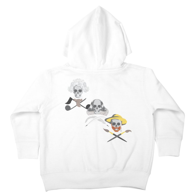 Artist Dead Kids Toddler Zip-Up Hoody by Inspired Human Artist Shop