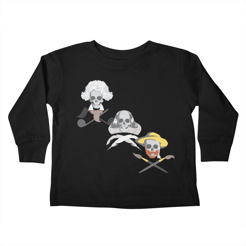 Artist Dead Kids Toddler Longsleeve T-Shirt by Inspired Human Artist Shop