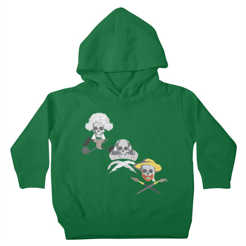 Artist Dead Kids Toddler Pullover Hoody by Inspired Human Artist Shop