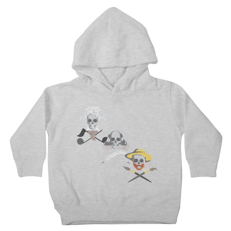 Artist Dead Kids Toddler Pullover Hoody by Inspired Human Artist Shop