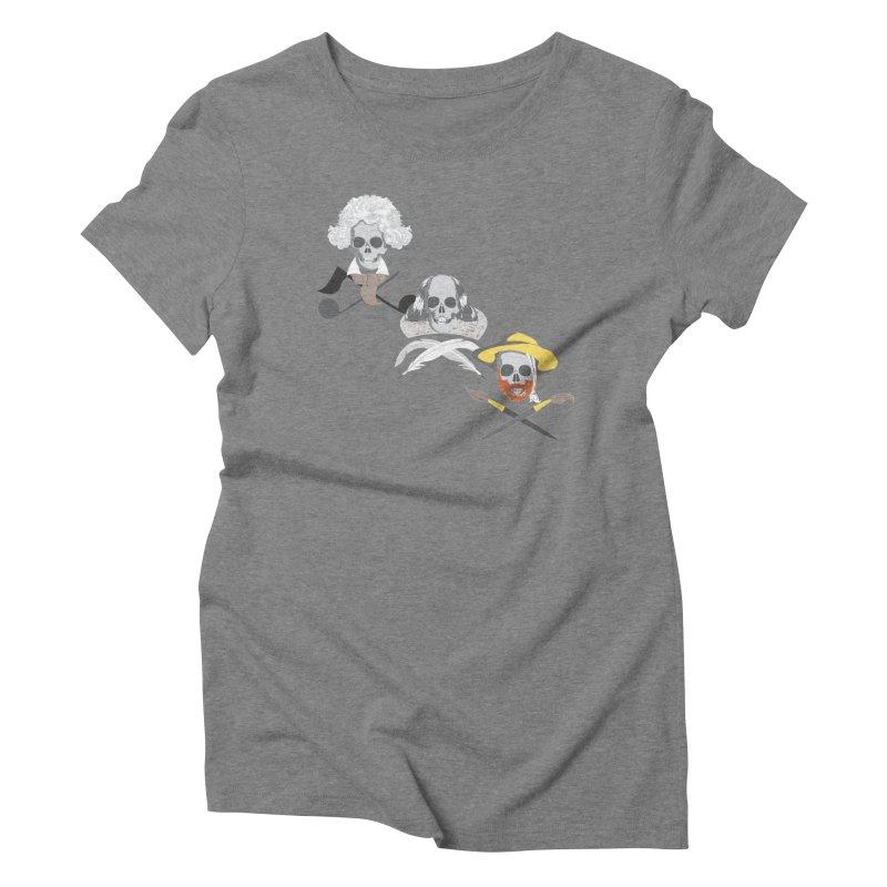 Artist Dead Women's Triblend T-Shirt by Inspired Human Artist Shop